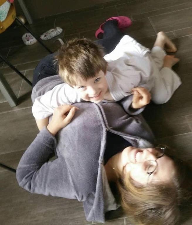 défi judo à la maison